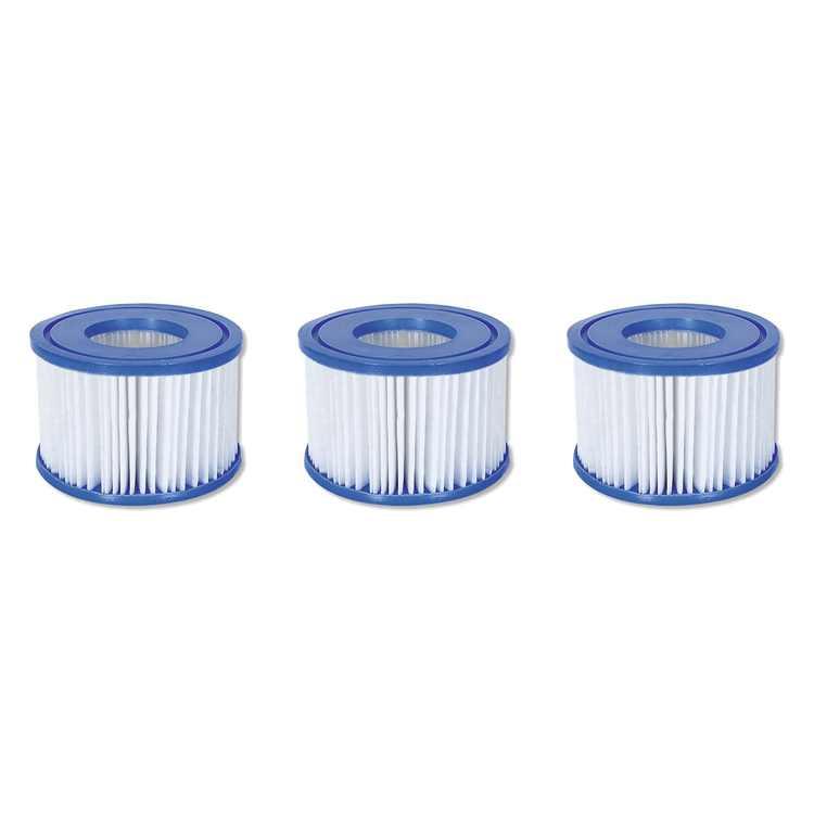 Coleman SaluSpa Swimming Pool Filter Pump Type VI Replacement Cartridge (3 Pack)