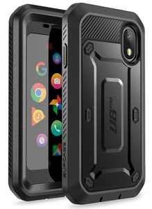 SUPCASE Palm Case, Full-Body Rugged Case with Built-in Screen Protector for Palm (2018 Release), Unicorn Beetle Pro Series - Retail Package Without Holster (Black)
