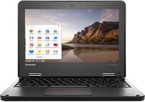 "Refurbished Lenovo Chromebook ThinkPad 11e 20DB0007US Intel Celeron N2930 2.16GHz 4GB 16GB SSD 11.6"" in Black"