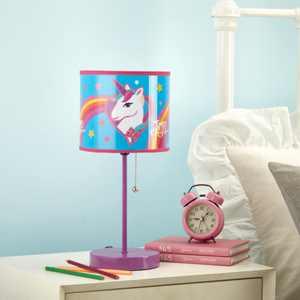 Nickelodeon JoJo Siwa Unicorn Kids Room Table Lighting Stick Lamp