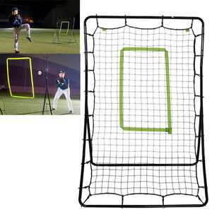 Ktaxon 4.6 ft Height Portable Baseball/Softball Pitching Net Training, for Kids Youth Feilding Throwing Rebound Practice