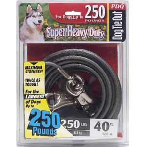 Boss Pet Products PDQ Super-Beast Tie-Out 40ft