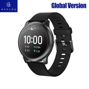 Haylou Smart Watch Solar LS05 12 Sports Modes  24H Heart Rate Monitoring Daily Waterproof Fitness Bracelet