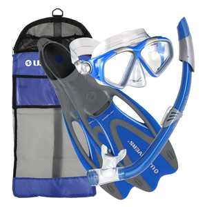 Cozumel Sea Breeze Gear Bag, Blue, Medium/Large