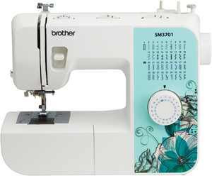 Brother SM3701 37 Stitch Lightweight Sewing Machine, White