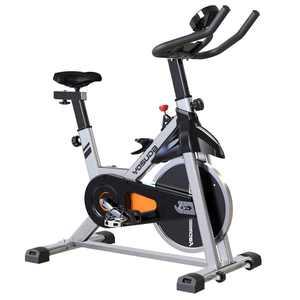 YOSUDA Adjustable Exercise Bike Indoor Cycling Bike Fitness & Workout Bike with Flywheel & Ipad Mount & Comfortable Seat Cushion