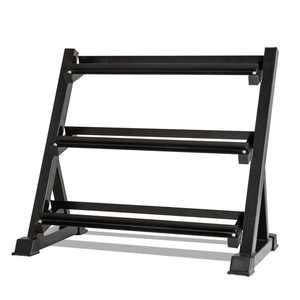 "UBesGoo Dumbbell Rack, 3-Tier Horizontal Multilevel Weight Storage Stand Organizer Shelf, 39"" x 22"" x 35"" Size"