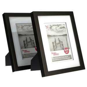 "Better Homes & Gardens Picture Frame Black, Set of 2, 8""x10"""