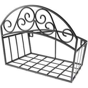 Liberty Garden Wall Mounted Hose Butler With Shelf