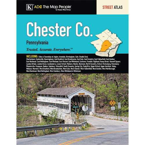 Universal Map Chester County Pennsylvania Atlas