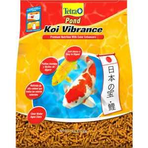 Tetra TetraPond Koi Vibrance Soft Floating Pond Food Sticks, 1.43 lbs