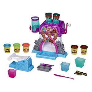 Play-Doh Kitchen Creations Candy Delight Playset, Includes 5 Cans, for Ages 3+