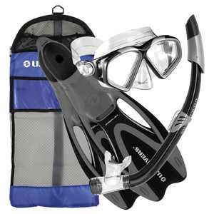 Cozumel Sea Breeze Gear Bag, Black, Small