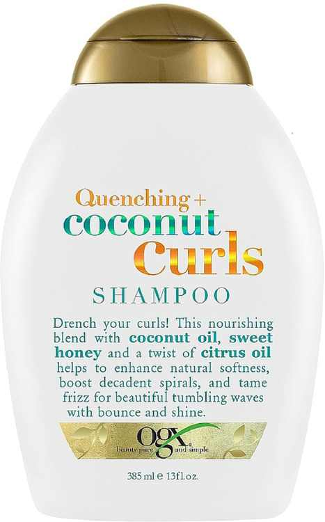 OGX Quenching + Coconut Curls Shampoo 13 oz (Pack of 2)