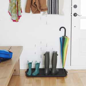 """Mainstays All Purpose Easy Clean Boot Tray, Black, 15""""x29"""""""