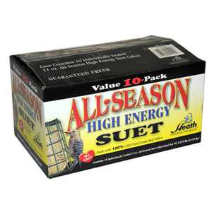 Heath Manufacturing DD4-10 All Season Suet Cake, 10 Pack