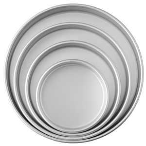 Wilton Performance Pans Aluminum Round Cake Pans Set, 4-Piece