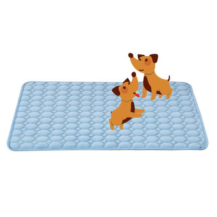 Pet Cooling Mat Summer Dogs Cats Comfortable Cushion Pad Cool Bed