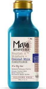 Maui Moisture Nourish & Moisture + Coconut Milk Conditioner 13 oz (Pack of 3)