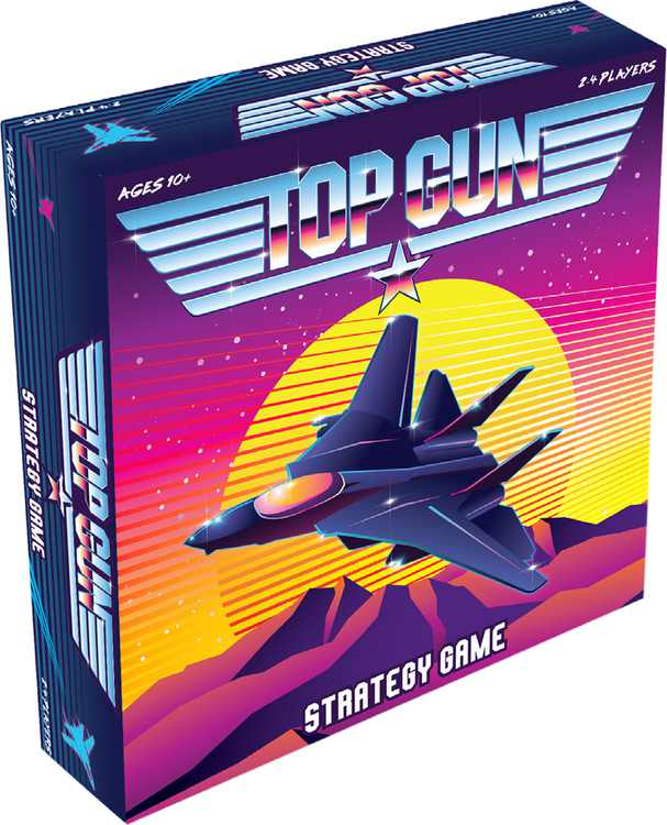 Top Gun Strategy Board Game