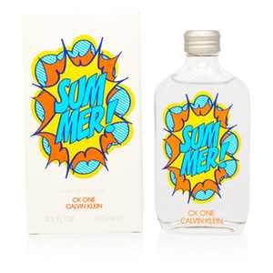 Calvin Klein CK One Summer Eau De Toilette, Unisex Perfume, 3.3 Oz