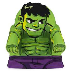 Marshmallow Furniture Foam Toddler Comfy Chair Kids Seating, The Hulk