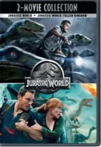Jurassic World 2-Movie Collection (DVD) (Walmart Exclusive)