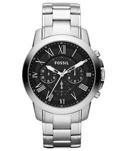 Men's Chronograph Grant Stainless Steel Bracelet Watch 44mm FS4736