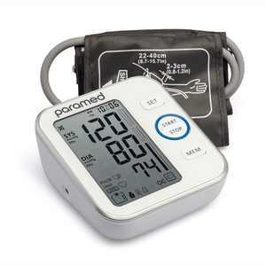 PARAMED Upper Arm Blood Pressure Monitor - Blood Pressure Cuff 22-40 cm, 120 Sets Memory