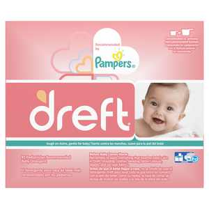 Dreft Powder Laundry Detergent, 40 loads, 53 oz