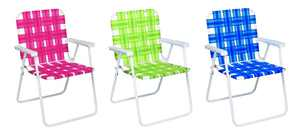 Web Foldng Char Bl/Gn/Rd Pack of 6