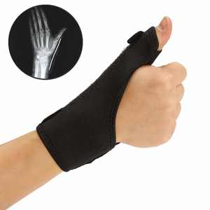 Cloth Medical Wrist Thumb Hand Spica Splint Support Brace Stabiliser Sprain Arthritis,Ideal for healing carpal tunnel syndrome, wrist fractures, sprains, ligament , tendon strains