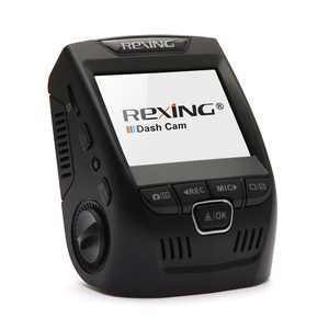 """Rexing V1 Car Dash Cam 2.4"""" LCD FHD 1080p 170 Wide Angle Dashboard Camera Recorder with G-Sensor, WDR, Loop Recording"""