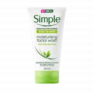 Simple Kind to Skin Facial Wash, Moisturizing, 5 oz