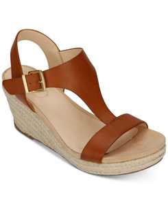 Women's Card Wedge Sandals