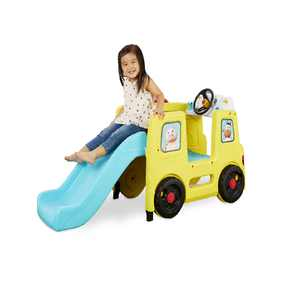 Little Tikes Little Baby Bum Wheels on the Bus Official Climber and Slide with Interactive Music Dashboard Ages 18 Months +