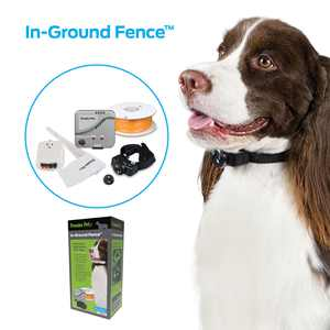 Premier Pet In-Ground Fence for Dogs: Customizable .33 Acre Barrier, In-Ground Electric Fence, Waterproof Collar, Tone & Static Correction, Expandable- Add Pets & Coverage Area Up to 5 Acres
