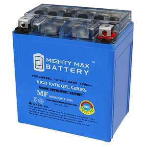 12V 6AH 100CCA GEL Battery for Honda 250 CMX250C Rebel 1996-2014