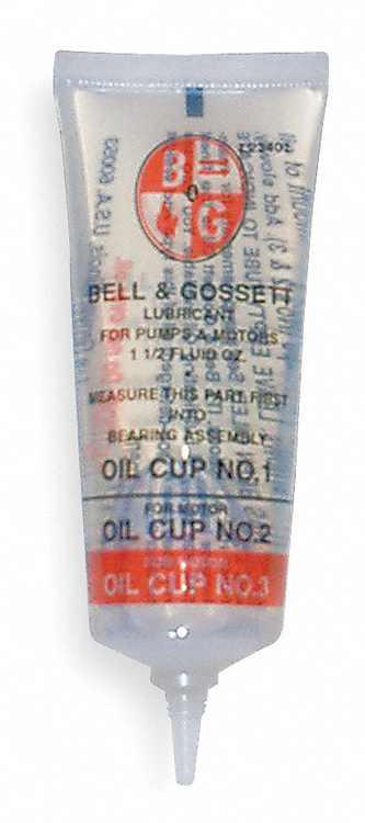 Bell & Gossett Tube,Oil,2 1/2 Oz  118154