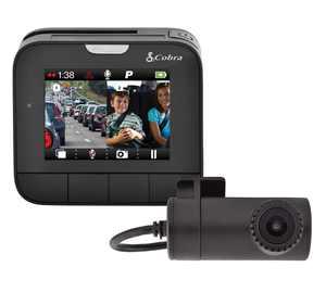 Cobra DASH 2216D Dual View Dash Cam System