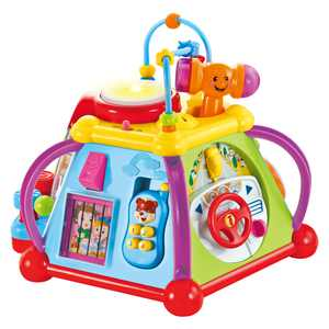 CifToys Musical Activity Cube Play Center Educational Learning Baby Toys