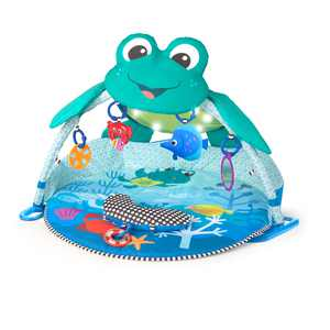 Baby Einstein Neptune Under the Sea Lights & Sounds Activity Gym and Play Mat, Ages Newborn +