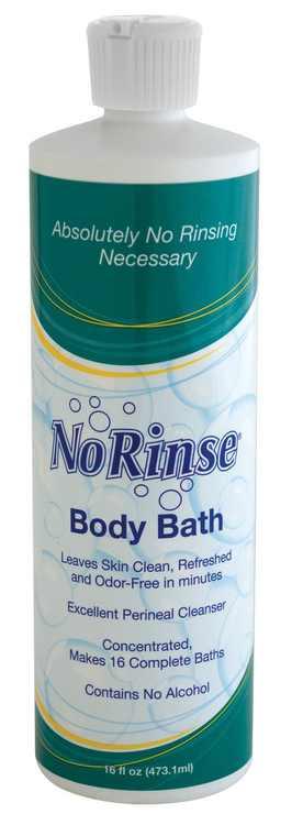 No Rinse Body Bath 8 oz. (Pack of 6)