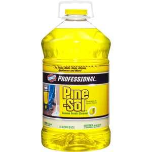 Pine-Sol Professional Multi-Surface Cleaner, Lemon Fresh, 144 Ounces