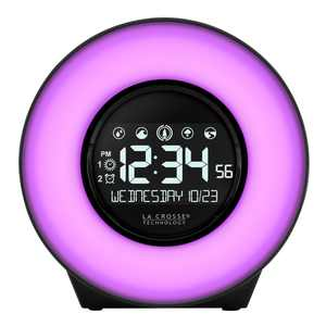 La Crosse Technology LCD Alarm Clocks, C83117-INT