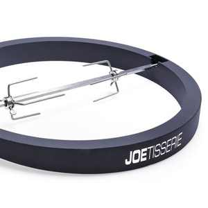Kamado Joe JoeTisserie Big Joe Grill BJ-TISSERIENA Spit Rod and Forks Rotisserie
