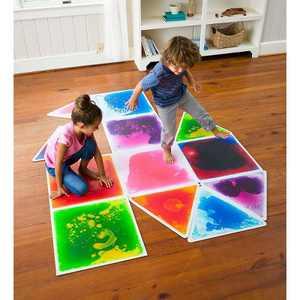 Captivating Color Liquid Tile Square