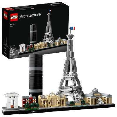 LEGO Architecture Paris City Model Skyline Collectible Building Kit 21044