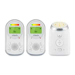 VTech 2 Parent Digital Audio Monitor with Ceiling Night Light - TM8212-2