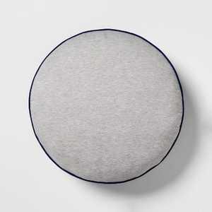 Jersey Floor Pillow Blue/Gray - Pillowfort™